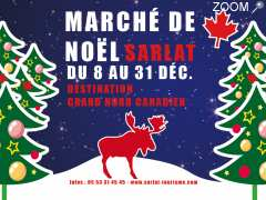 photo de Marché de Noël de Sarlat : Destination Grand Nord Canadien